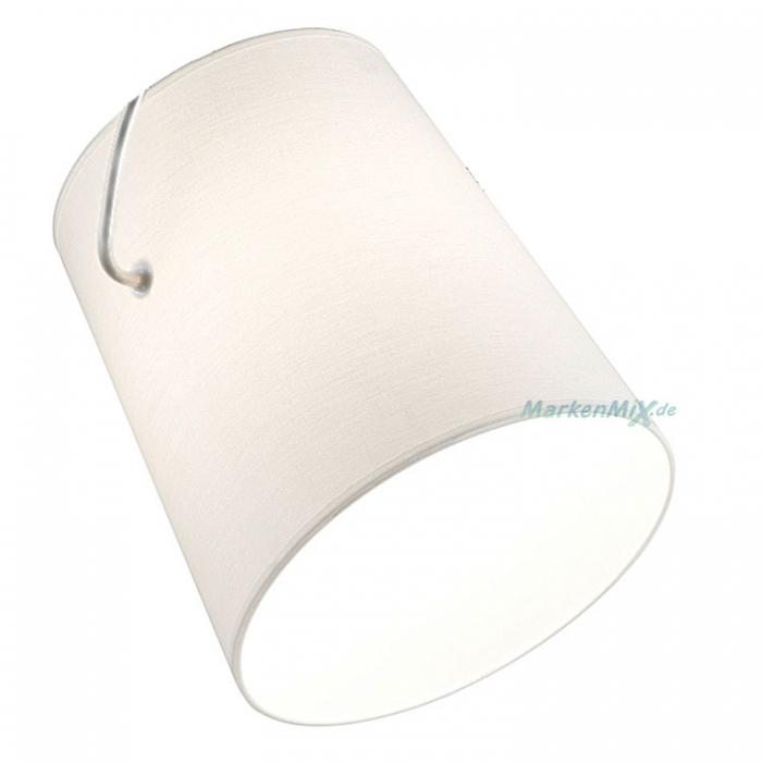 Ersatzschirm für Trio Serie Meran Ø 28cm Stoffschirm weiß zu 306800107 406800107 Ersatzschirm 4017807387759 Lampenschirm aus Stoff 4017807387735 Ersatzlampenschirm