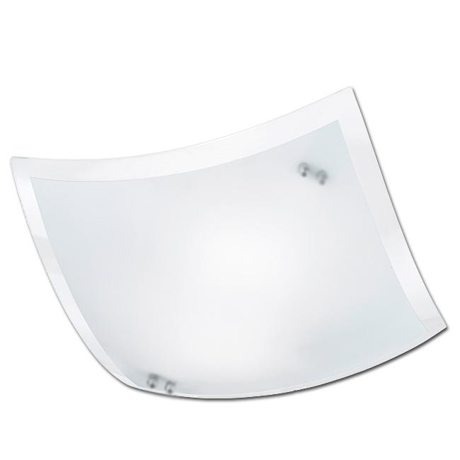Trio Ersatzglas 23x23cm Lampenglas für Deckenleuchte Busa 601400106 Glascheibe für 4017807230536  4017807224580