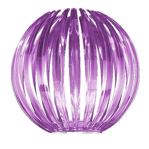 Ersatzglas 92391-92 Trio Acrylball purple für Stehleuchte ZUCCA 404010292 bestehend aus 4 Teilen