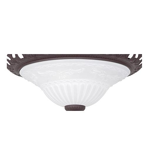 Trio Ersatzglas 92126 Lampenglas für Deckenleuchte 6102021-24 RUSTICA 4017807053296