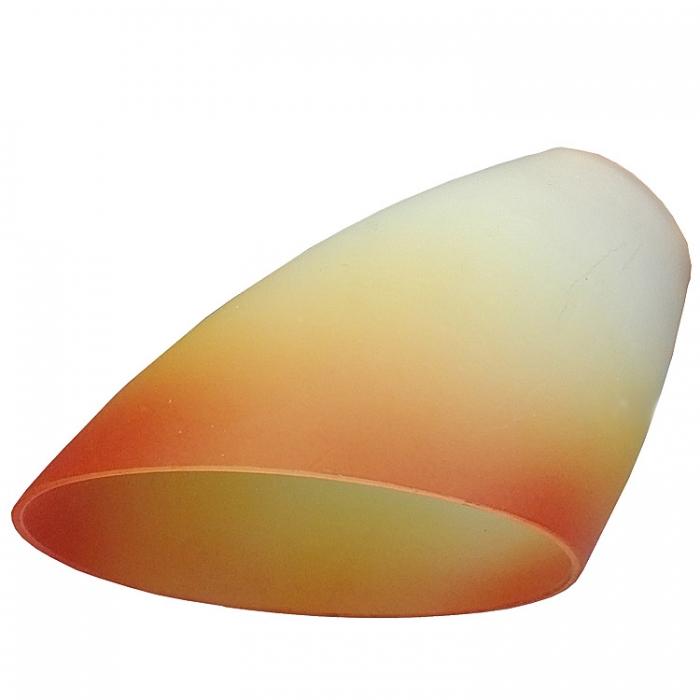 Reality Ersatzglas orange / gelb / ws Glasschirm für Flexarm-Deckenleuchte R6124 und Stehleuchte R4924 Ersatzteil  Reality-RL-Trio-Lighting Arnsberg 4017807143874