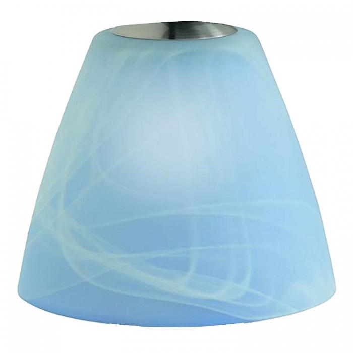 Reality Ersatzglas G5950-12 für Tischleuchte R5950-12 YC595012 Lampenglas blau 4017807209884