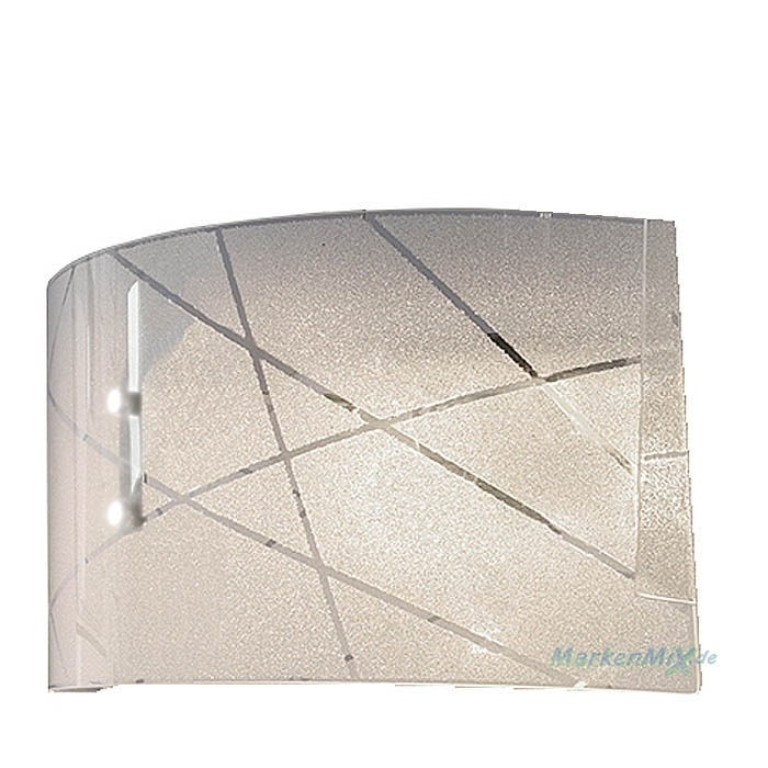 Trio Ersatzglas für Pendelleuchte Sandrina 301200300 Glascheibe mit Kristalleffekt 4017807406894 Glasschirm  4017807398649 Glashaube