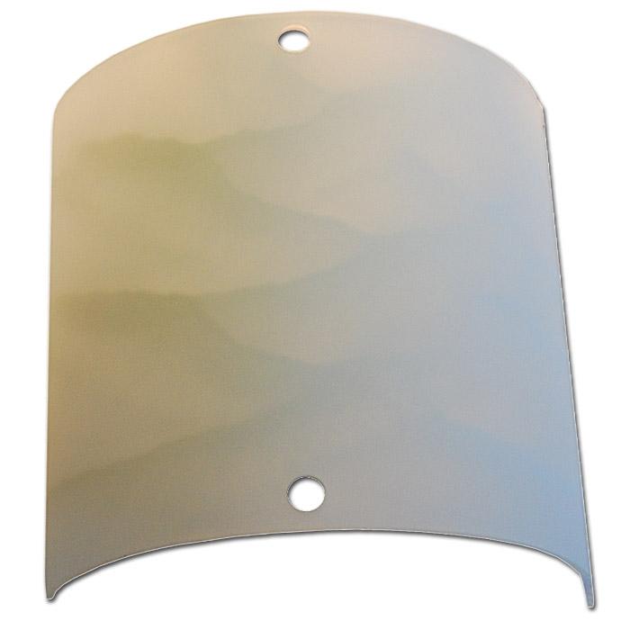 Trio Ersatzglas 9327-01 Glas 20x20cm alabaster weiß für Wandleuchte MARTA 2523011-01, 4017807094756