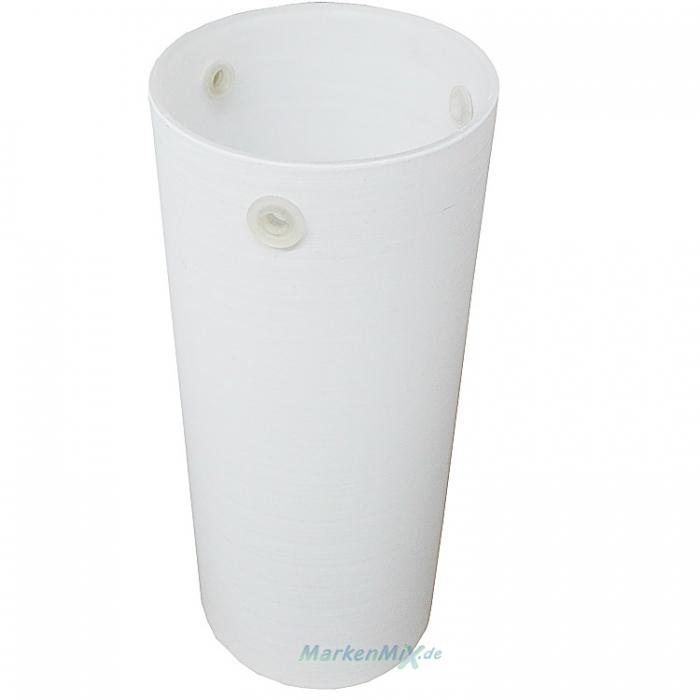 Trio Ersatzglas weiß gewischt Glaszylinder Ø 7cm x H18cm Glasschirm für Pendelleuchte 3436011-07 Balkenpendel 3436041-07 Pendelampe 3436331-07 Lampenschirm Glasschirm Glaszylinder  Trio-Lighting Arnsberg