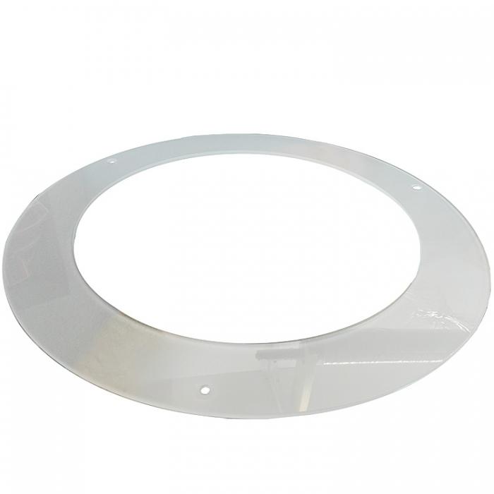 Trio Ersatzglas 92753 Lampenglas Scheibe Ø 38cm für LED Fluter Calgary 422510201 422510207  4017807295474 4017807286182 4017807286205