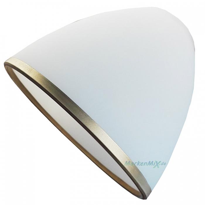 Rabalux Ersatzglas 19192 Lampenschirm weiß / bronze für Leuchten-Serie Aletta 2778 2779 2780 Glasschirm 5998250327785 Ersatzlampenschirm 5998250327792 Lampenglas 5998250327808 Ersatzschirm