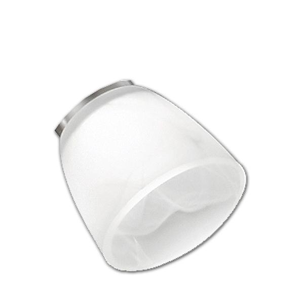 Trio Ersatzglas 92685-01 Lampenglas für Lesearm von Fluter SANTO II  421910207 421910228 Glasschirm Lesearm Santo 2 Schutzglas Glaskugel Lampenschirm Trio-Lighting Arnsberg