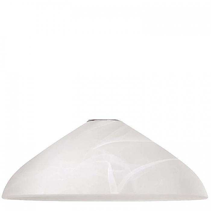 Rabalux Ersatzglas 19136 für Pendelleuchte Nordic 2606 Glasschirm Ø 40cm alabaster weiß für E27 Fassung Glasglocke 5998250326061 Ersatzlampenschirm Lampenglas Ersatzschirm