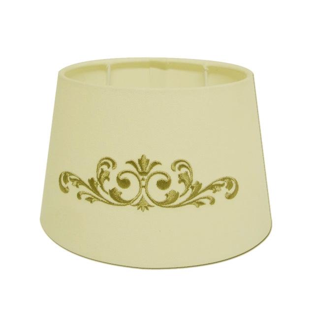 Light & Living Lampenschirm oval 20-14-14 cm TRIBE creme / leber E27 - für Tischleuchte 3720428 8717807016838