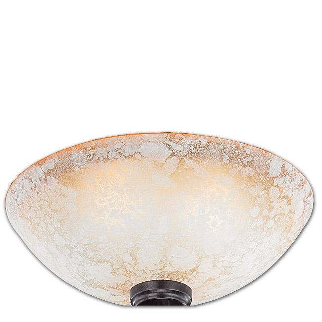 Ersatzglas 92472-01 Trio Lampenglas für Deckenleuchte Quinta 608100224 Glasschale alabasterfarbig, champagner 4017807211795  4017807249330