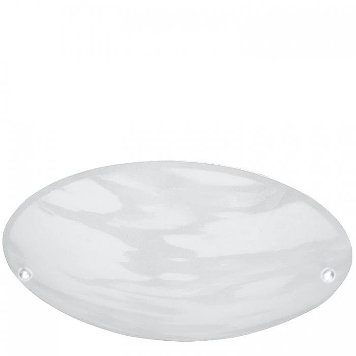 Trio Ersatzglas 9523-07 alabaster weiß Ø 25cm Glasscheibe für Deckenleuchte 6196011-07 Glasschirm 4017807138245 Ersatzschirm Lampenschirm Abdeckglas  Trio-Lighting Arnsberg