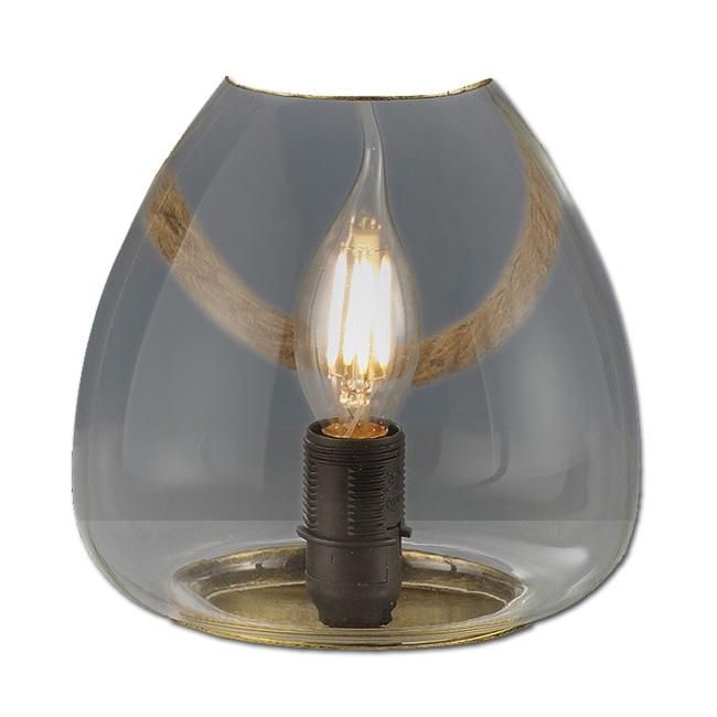 Ersatzglas 92742 Trio Lampenglas für Tischleuchte Linda 503500104 Glasschirm 503500161 Glas zu 503500162 Glashaube 4017807286724 Glaskuppel 4017807286731 Ersatzschirm 4017807286748