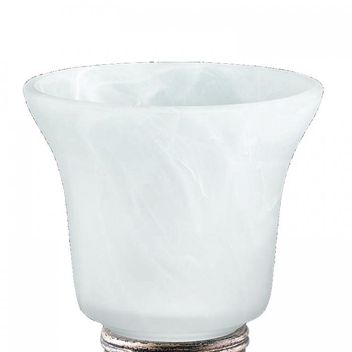 Reality Ersatzglas G50871004 Lampenglas für Antik Tischleuchte Kelch R50871004 alabasterfarbig weiß Tischlampe 4017807204612 4017807198829