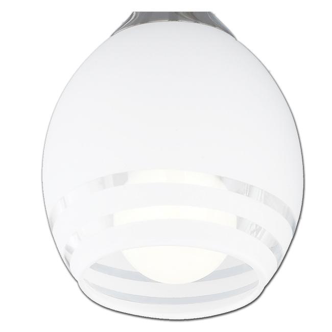 Ersatzglas 92529 Lampenglas für Trio Deckenleuchte CURVA 605600307 605600507