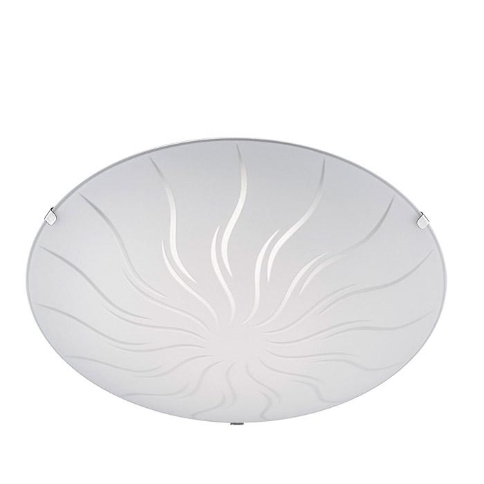 Ersatzglas 92790 Lampenglas Ø 30cm weiß für Trio LED Deckenleuchte GEMMA 673411201 4017807345643
