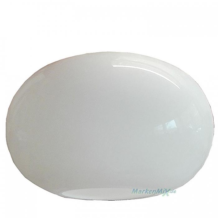 Reality Ersatzglas G32151001 Lampenglas für Pendelleuchte R32153506 Glaaschirm weiß glänzend Ersatzschirm 4017807253146 Lampenschirm Glashaube