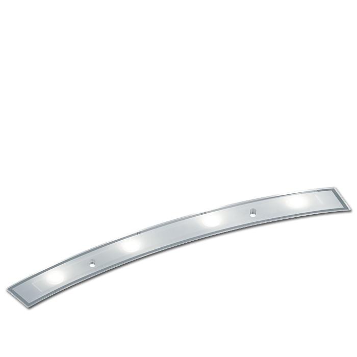 Ersatzglas 92639-01 Lampenglas für Trio LED Deckenleuchte DARIO 628910406 Glasscheibe 4017807255867 Glas Abdeckglas Glasschirm