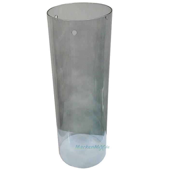 Eglo Ersatzglas GL2336 Rauchglas transparent schwarz Zylinder für Serie Pinto Nero 90304 90305 90306 90308 90309 9002759903091 9008606106264