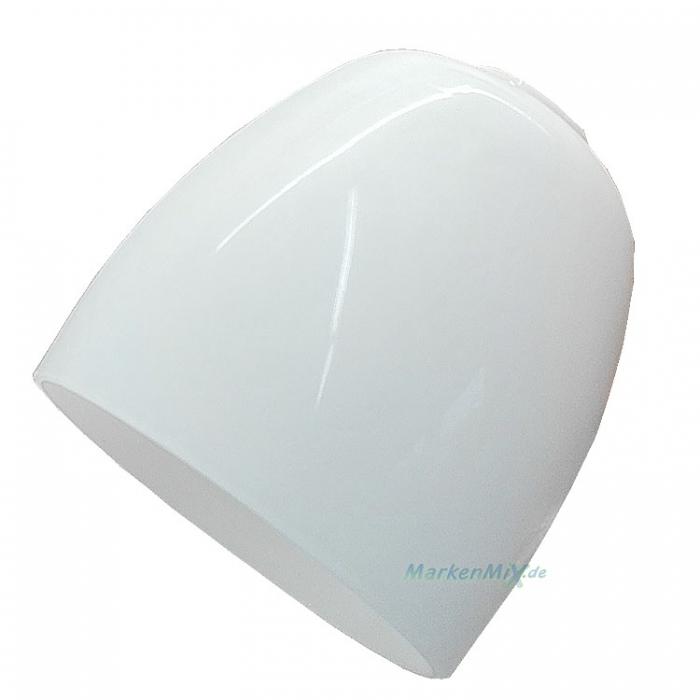 Reality Ersatzglas G40112001L Lampenglas weiß glänzend für Lesearm zu Deckenfluter R40112006 Glasschirm 4017807237719 Ersatzschirm Lampenschirm Glashaube Abdeckglas