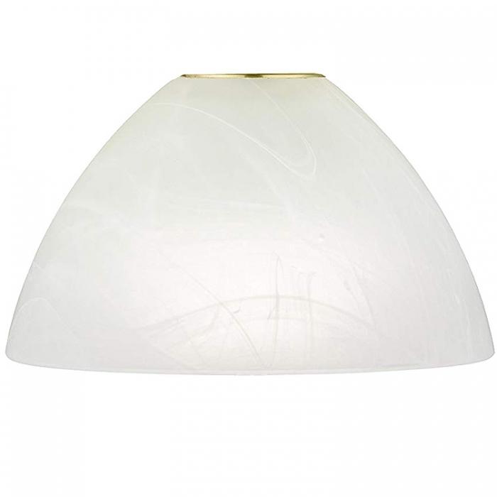 Reality Ersatzglas Ø 15cm für Tischleuchte Qeen R52021107 R52021108 Lampenglas alabaster weiß 4017807415391 4017807369533 4017807369540
