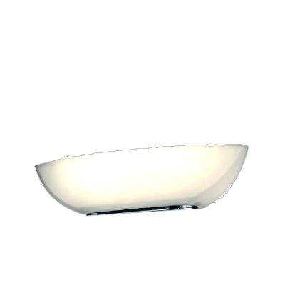 Trio Ersatzglas 92642 Fluterglas Schale für LED Deckenfluter 428610105 428610205