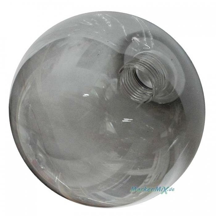 Trio Ersatzglas Ø 10cm Kugelglas smoke für Serie Alicia 307601006 Lampenglas 407690906 Glasschirm 507690606 Ersatzschirm zu 607601006 607601206 Lampenschirm 4017807426885 Glashaube 4017807423150 Schutzglas  4017807423198 4017807423174  Trio-Lighting Arnsb