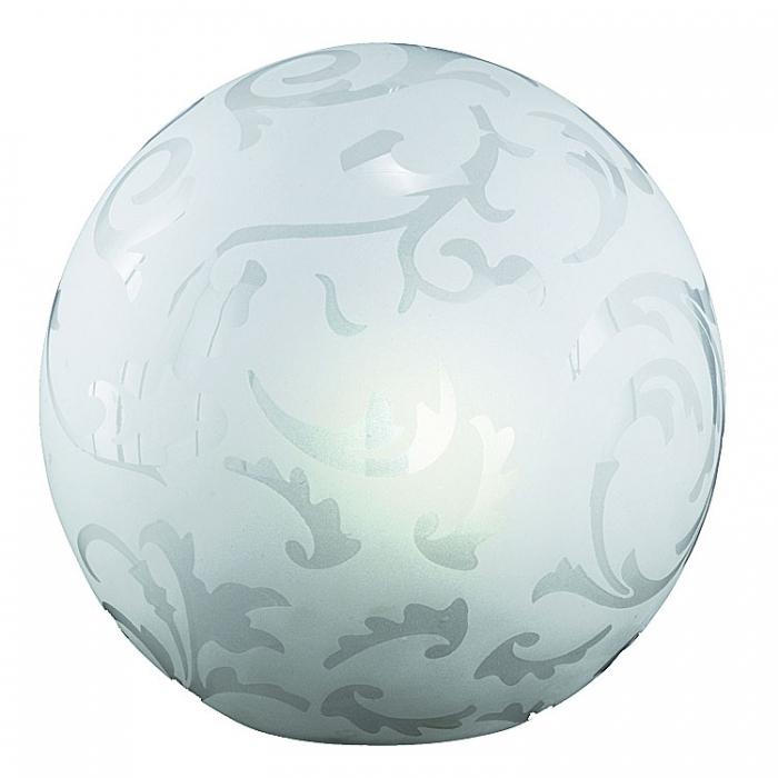 Ersatzglas 92742 Trio Lampenglas mit Ornamentik-Dekor für Tischleuchte 572910100  Kugelleuchte 4017807182521