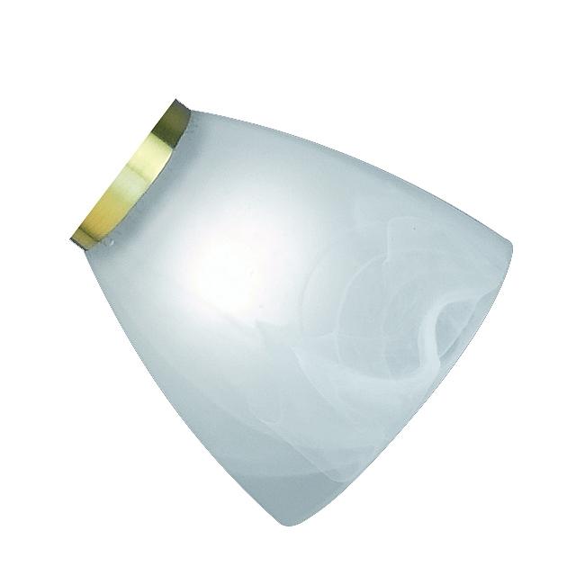 Trio Ersatzglas 9531 Lampenglas für Messing Leuchten-Serie 8701061-08, 8701211-08, 8701221-08, 8701331-08, 8701341-08, 8701441-08,