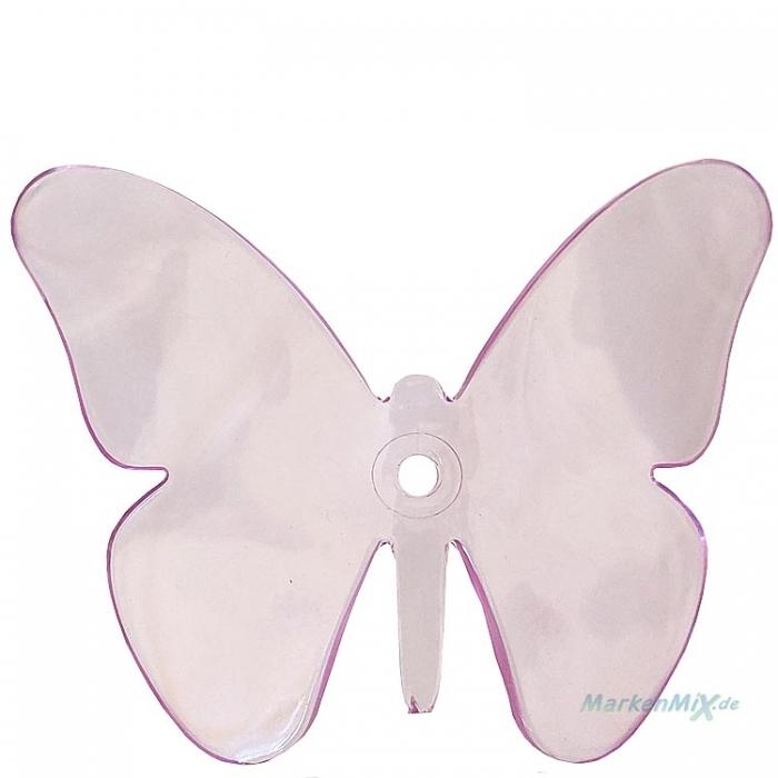 Reality Ersatz Schmetterling purpurrot für Leuchten-Serie Butterfly Deckenleuchte R60213017 R30214017 Ersatzteil purple zu Serie BUTTERFLY Reality-RL-Trio-Lighting Arnsberg 4017807380323 4017807380316