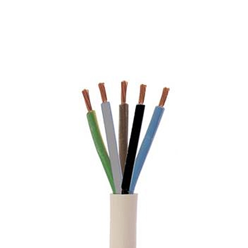 10m H05VV-F 5G2,5 mm² PVC-Schlauchleitung - Kabelrest zum Sonderpreis