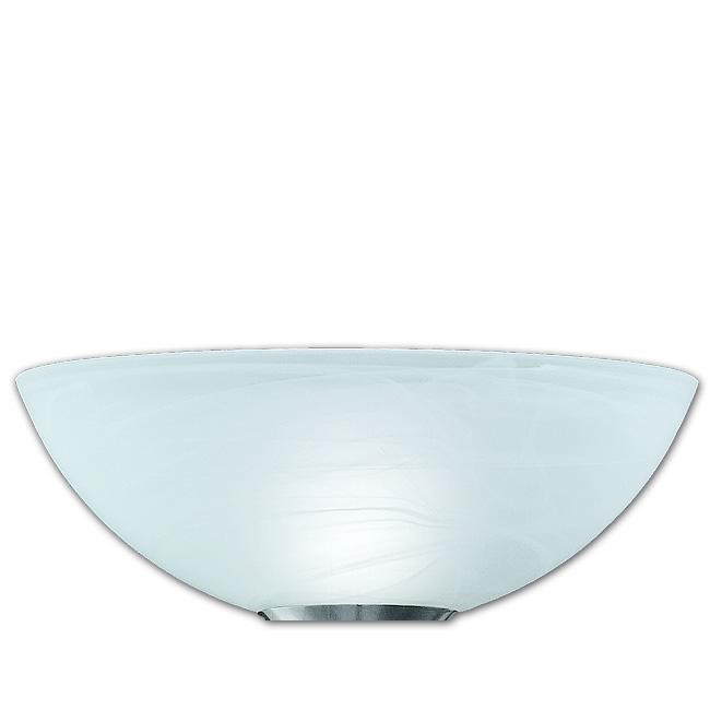 Ersatzglas 9313-01 große Fluterschale Ø 36cm Lampenglas für Trio Fluter 4335021-07 4017807130492 alabaster