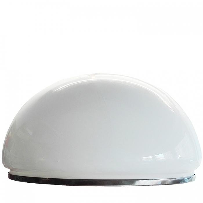 Ersatzglas Ø 36cm für Sorpetaler Pendelleuchte New Orleans 125151 125150 Glasschirm weiß glänzend mit Ring Altmessing 4021273085941