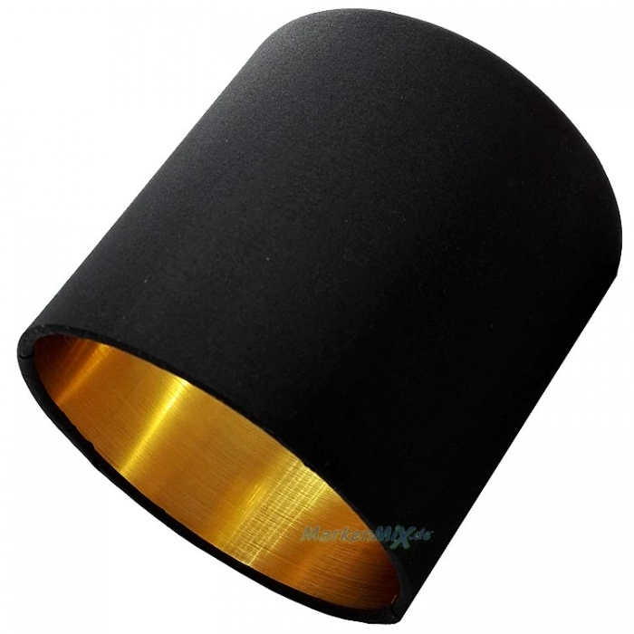 Reality Ersatz-Stoffschirm schwarz / gold Lampenschirm für Serie Tommy R80334079 R80333979 R80332079 R46330579 R30334079 R80331079 TOMMY Ersatzschirm RL Reality Trio-Lighting Arnsberg  4017807389005 4017807395150