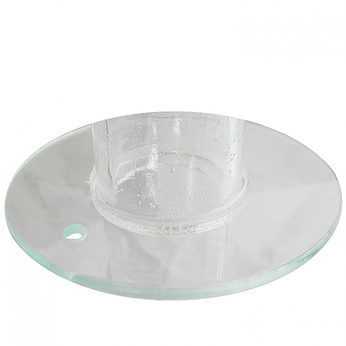 Trio Ersatzglas 9220-00 Glasring klar Lampenglas für Deckenleuchte 6306061-00 4017807129618 4017807129793 6306061-01
