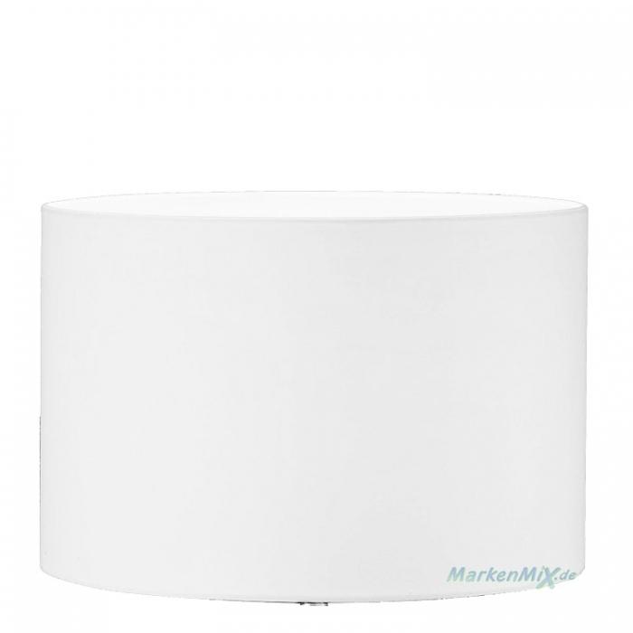 Stoffschirm weiß Ø 30cm H20cm für Trio Tischleuchte Hotel Ersatzschirm zu 511100101 Ersatzschirm 4017807366242 Lampenschirm aus Stoff 4017807246841 Ersatzlampenschirm