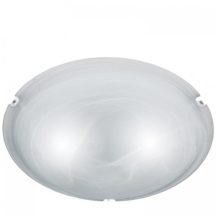 Trio Ersatzglas alabaster Ø 30cm Glasschirm für Deckenleuchte Adrian zu 6105011-01 Lampenglas 600501104 Ersatzschirm 600501107 Lampenschirm 4017807056815  Glashaube 4017807053968 Abdeckglas