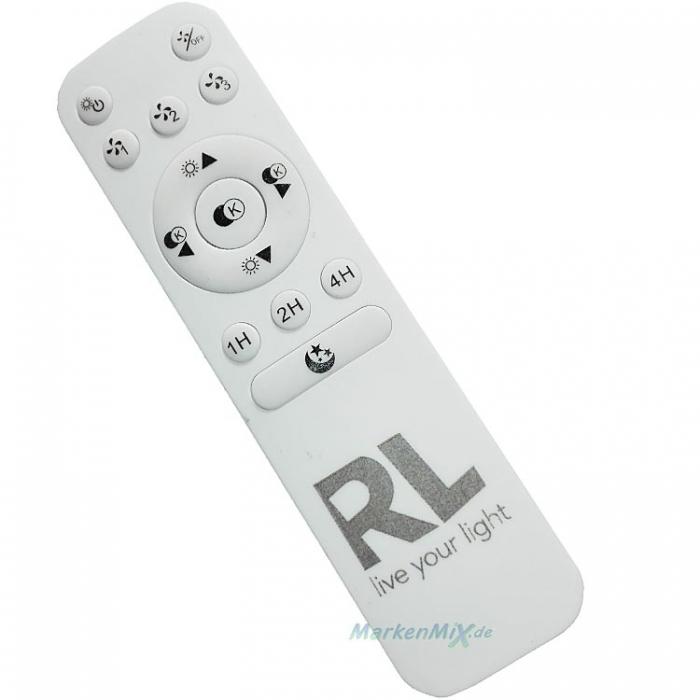 Reality Funk-Fernbedienung Remote-control für Ventilator VISBY Visby R62402906 R62402106 NARVIK Narvik R62432106 HARSTAD Harstad R62412106 4017807457766 4017807461084 4017807461206