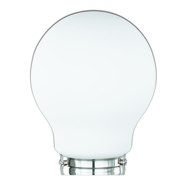 Ersatzglas 9355 Lampenglas für Trio Tischleuchte Glühbirne 5601011-07 EDISON II