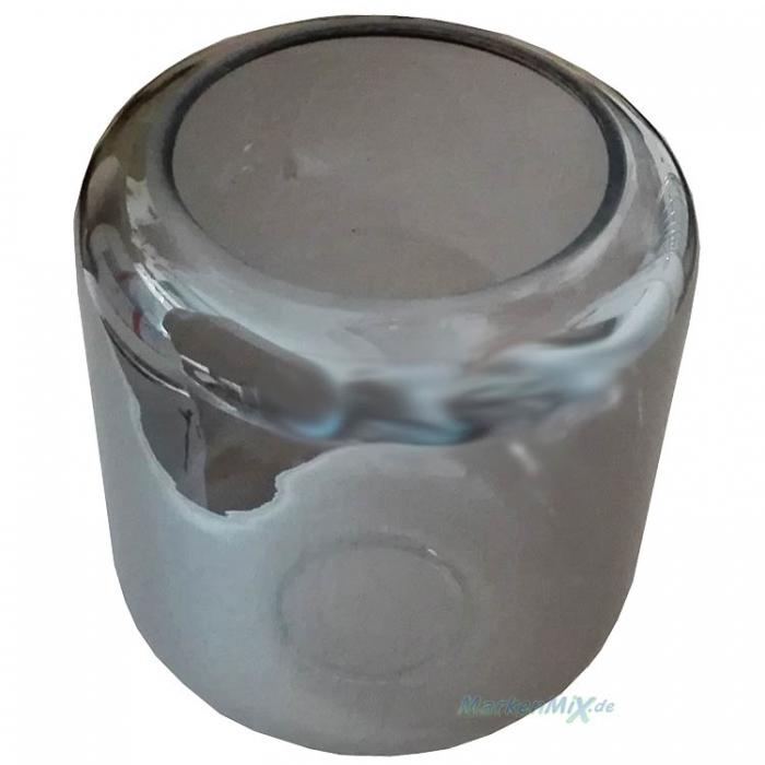 Reality Ersatzglas rauchfarbig smoke für Tischleuchte NICO Nico Glasschirm zu Leuchte R50591008 Trio-Lighting Arnsberg Lampenglas R50591032 Ersatzschirm Glasglocke Glashaube