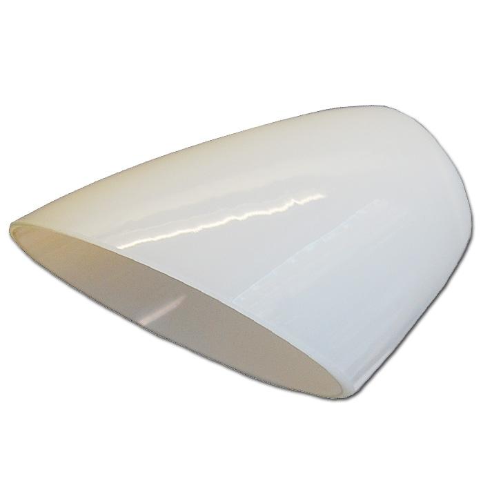 Ersatzglas 92297 Lampenglas weiss glänzend für Trio Tischleuchte 521810106