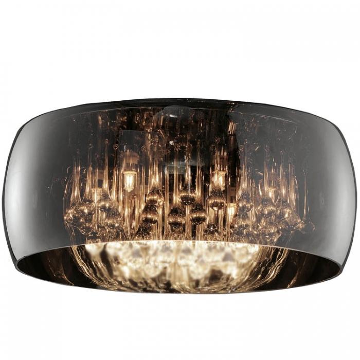 Ersatzglas 92829-50 / 9190141 für Trio u. Sorpetaler Leuchten-Serie Vivienne Glasschirm Vapore Pendelleuchte 311210606 Glashaube 190141 Glas Ersatzschirm Glasring