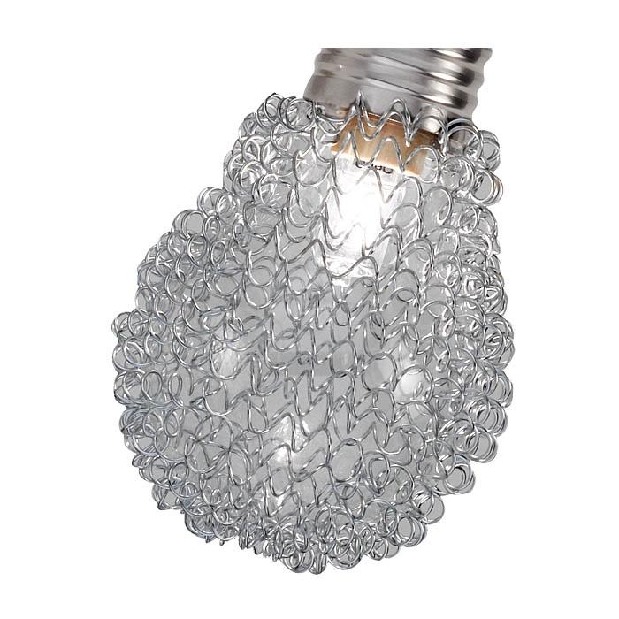 Ersatzglas 92349 Lampenglas mit Alugeflecht für Trio Serie 8136xx