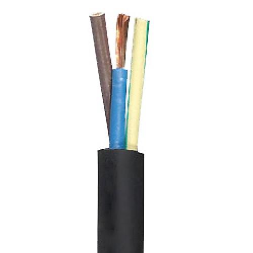 5,0m H07RN-F 3G2,5 3x2,5mm² schwere Gummileitung - Kabelrest zum Sonderpreis