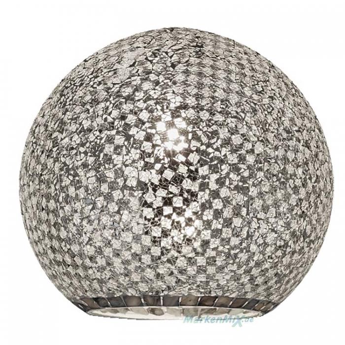 Trio Lampenglas silberfarbig Ø 30cm für Pendelleuchte Mosaique 303000189  Ersatzschirm 4017807337457 Glasschirm 4017807368864 Glashaube Abdeckglas