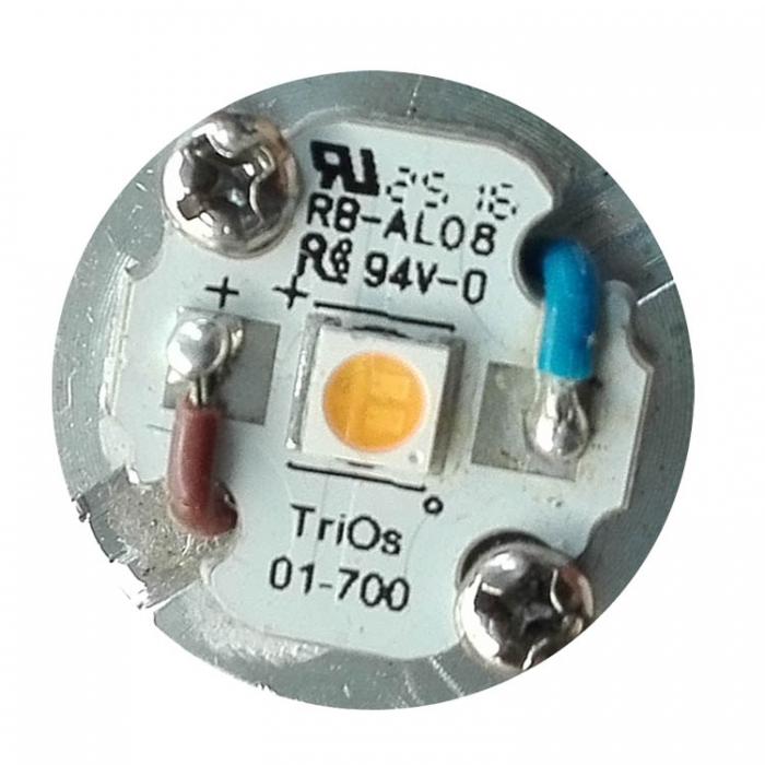 Trio Leuchten SMD LED Modul 1,1W 3000K 115lm LED-Platine Ersatzteil u.a. für Trio MIQUEL 628412107 und Deckenleuchte Ruben 620711405 620721405