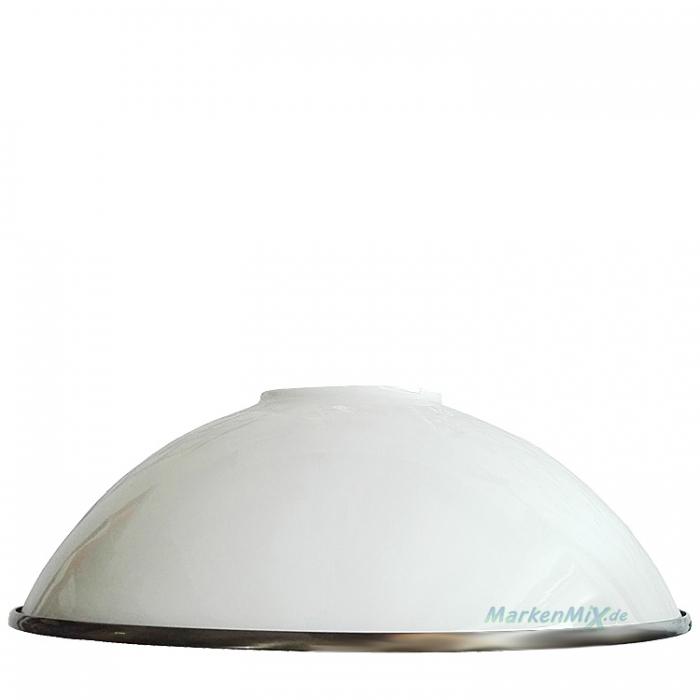 Sorpetaler Ersatzglas Ø 37cm für Leuchten-Serie Nuova Balkenpendelleuchte 45320 45322 Tischleuchte 45620 45820 Glasschirm weiß glänzend / Altmessing gebürstet von SLH Goller GmbH 4021273038046