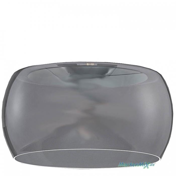 Reality Ersatzglas G30062-54 Glasschirm Ø 40cm rauchfarbig smoke für Leuchte Valente VALENTE 300600342  600600342 Ersatzlampenglas 4017807467369  Ersatzschirm 4017807466942 Glaszylinder zu Trio-Lighting Arnsberg Reality Leuchten 4017807467345