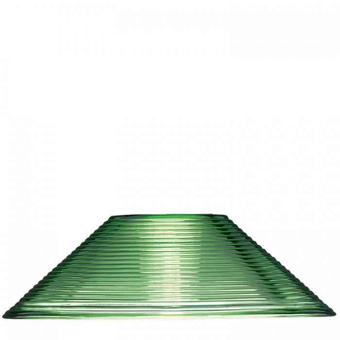 Trio Ersatzglas 92270-15 Riefenglas grün Glasschirm Ø 30cm für E27 Fassung für Diego Pendelleuchte 301400115  Trio-Lighting Arnsberg 4017807195453