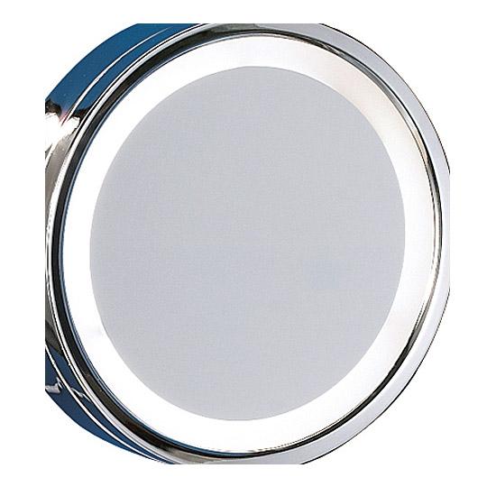 Spiegelglas für Trio LED Kosmetikspiegel 282670106 Wandleuchte Reflon Ø 21,5 cm, Glas zu Wandspiegel Vergrößerungsspiegel 4017807293302 Spiegelscheibe
